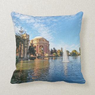 The Palace of Fine Arts California Cushion