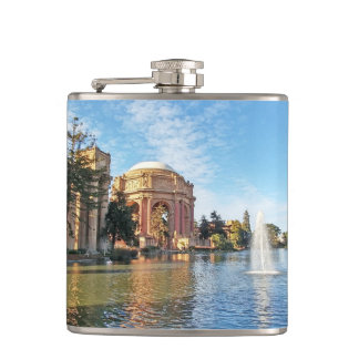 The Palace of Fine Arts California Hip Flask
