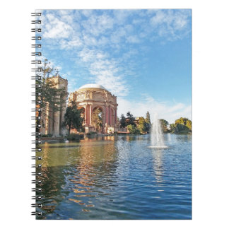 The Palace of Fine Arts California Notebook