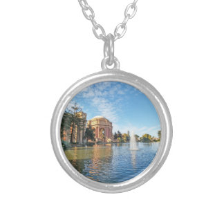 The Palace of Fine Arts California Silver Plated Necklace