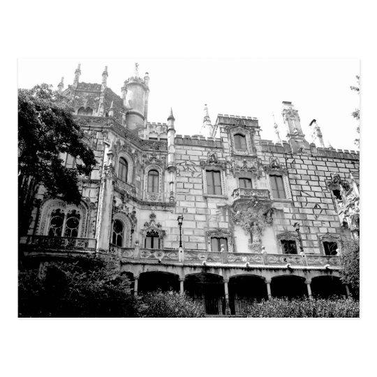 The palace of Quinta da Regaleira Postcard