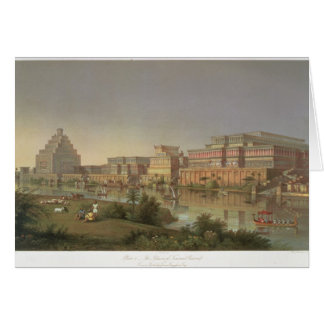 The Palaces of Nimrud Restored, a reconstruction o Card