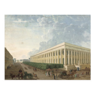 The Palais de la Bourse Postcard