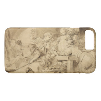 The Pancake Maker by Jean-Honore Fragonard iPhone 7 Plus Case
