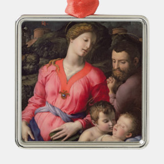The Panciatichi Holy Family c 1530-32 oil on pan Christmas Tree Ornaments