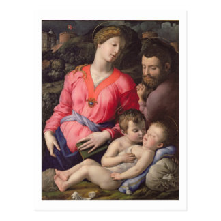 The Panciatichi Holy Family, c.1530-32 (oil on pan Postcard