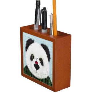 The Panda Bear And His Visitor Desk Organiser