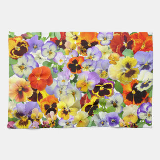 The Pansy Collection Tea Towel