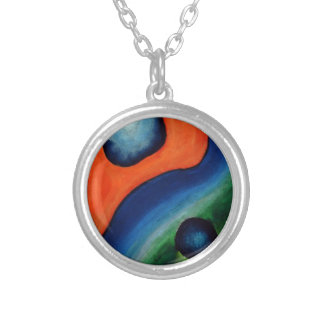 The Pantanal Round Pendant Necklace