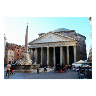 The Pantheon in Rome, Italy Business Card Template