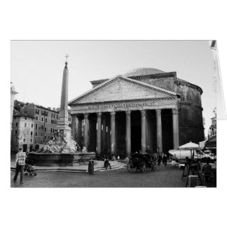 The Pantheon in Rome, Italy Card