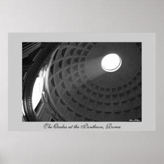 The Pantheon Poster