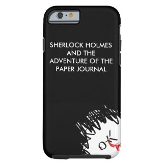 The Paper Journal Black iPhone 6/6s Case