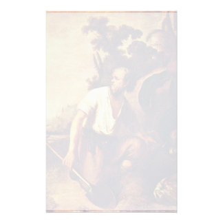 The Parable Of The Hidden Treasure. By Rembrandt Customized Stationery