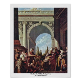 The Parable Of The Prodigal Son By Fetti Domenico Poster
