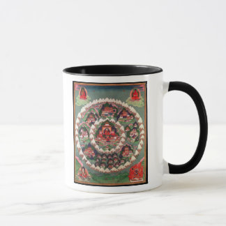 The Paradise of Shambhala, Tibetan Banner Mug