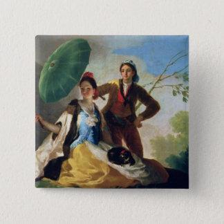 The Parasol, 1777 15 Cm Square Badge