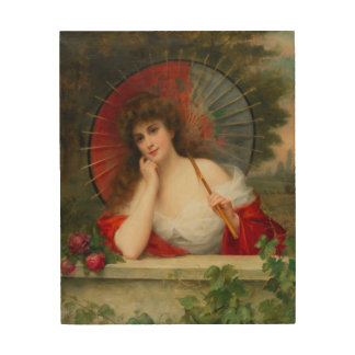 The Parasol Wood Wall Art
