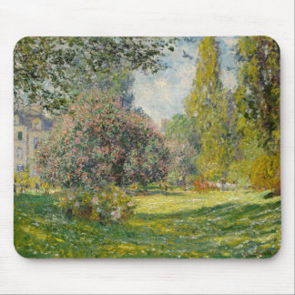 The Parc Monceau - Claude Monet Mouse Pad