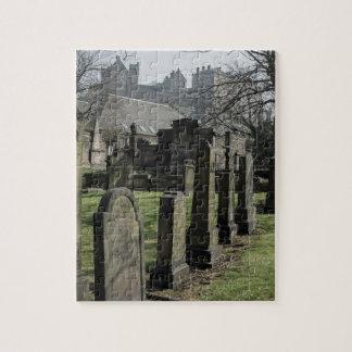 The Parish Church of St. Cuthbert Cemetery Jigsaw Puzzle