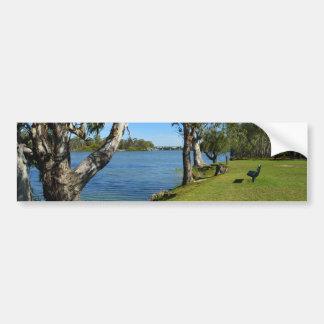 The Park Bench, Berri, South Australia, Bumper Sticker