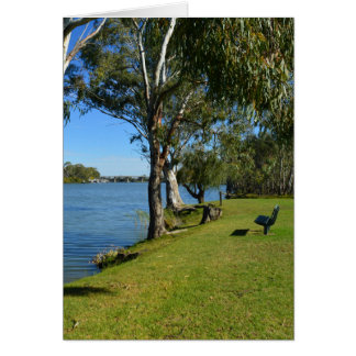 The Park Bench, Berri, South Australia, Card