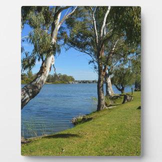 The Park Bench, Berri, South Australia, Plaque
