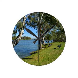 The Park Bench, Berri, South Australia, Round Clock