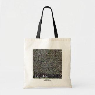 The Park By Klimt Gustav Tote Bags