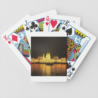 The Parlement Building Budapest Bicycle Playing Cards