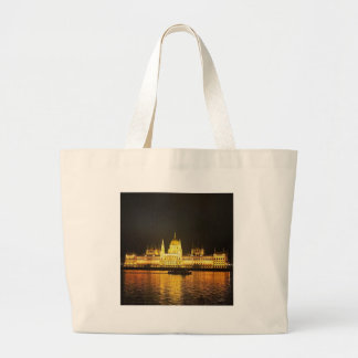 The Parlement Building Budapest Large Tote Bag