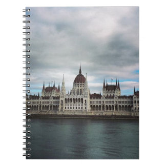 The Parlement Building Budapest, Maritha Mall Spiral Notebook