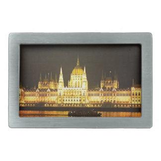 The Parlement Building Budapest Rectangular Belt Buckles