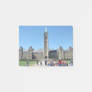 The Parliamentary Building, Canada Post-It Notes