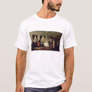 The Parlour of the San Zaccaria Convent (oil on ca T-Shirt