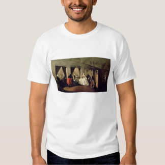 The Parlour of the San Zaccaria Convent (oil on ca T Shirts