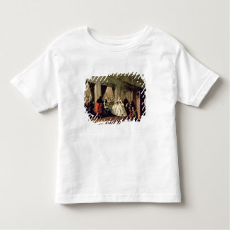 The Parlour of the San Zaccaria Convent (oil on ca Toddler T-Shirt
