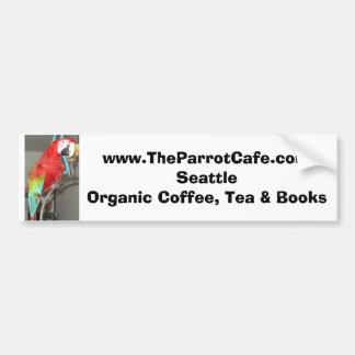 The Parrot Cafe Bumpersticker Bumper Sticker