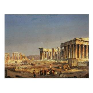 The Parthenon, 1863 Postcard