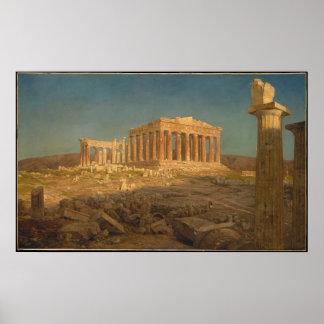 The Parthenon - Frederic Edwin Church (1871) Poster