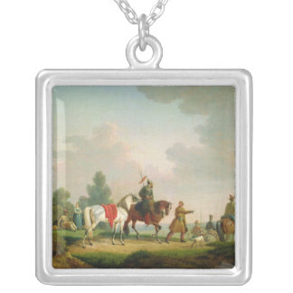 The Partisans in 1812, 1820 Silver Plated Necklace