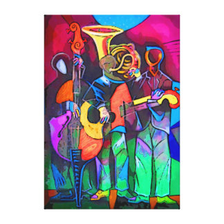 The party canvas print