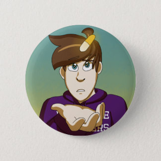 The Party Cover 6 Cm Round Badge