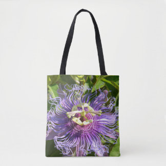 The Passion Flower Tote Bag