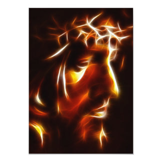 The Passion of Christ 13 Cm X 18 Cm Invitation Card