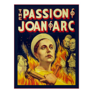 The Passion of Joan of Arc ~ Vintage Movie Poster