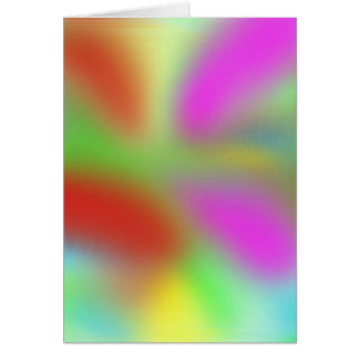 the pastel zone greeting card