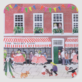 The Pastry Case 1994 Square Sticker