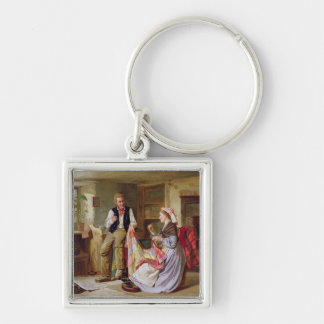 The Patchwork Quilt Key Chain