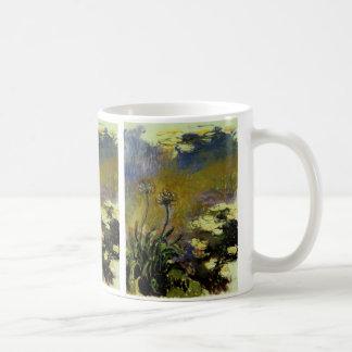 The Path Through the Irises Basic White Mug